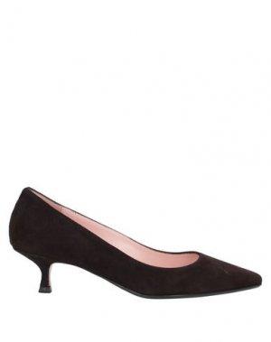 Туфли ANNA F.. Цвет: темно-коричневый