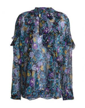 Блузка ANNA SUI. Цвет: синий