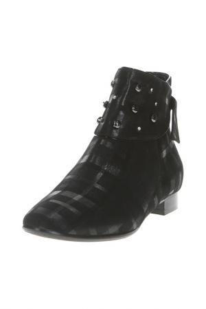 Ботинки Giada Gabrielli. Цвет: черный, кожа
