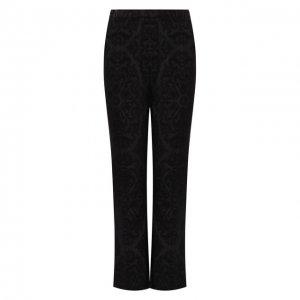 Расклешенные брюки Saint Laurent. Цвет: чёрный