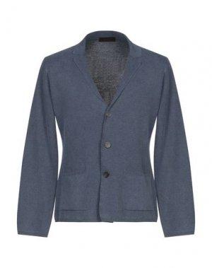 Пиджак ALTEA. Цвет: грифельно-синий