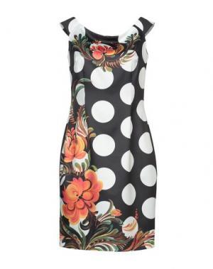 Короткое платье CASTING. Цвет: черный