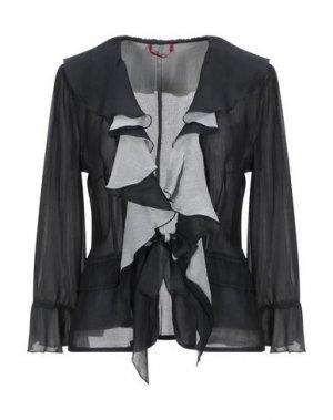 Pубашка DIVINA. Цвет: черный