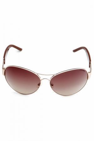 Очки солнцезащитные Arizona. Цвет: коричневый