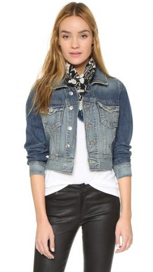 Объемная джинсовая куртка Dari True Religion