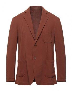 Пиджак STILOSOPHY INDUSTRY. Цвет: коричневый