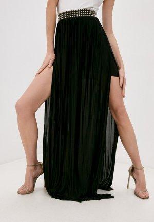Юбка Philipp Plein. Цвет: черный