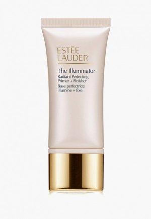 Праймер для лица Estee Lauder придания сияния The Illuminator Radiant Perfecting Primer + Finisher 30 мл. Цвет: белый