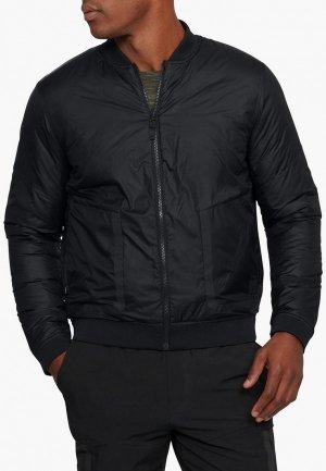 Куртка утепленная Under Armour UNSTOPPABLE REACTOR BOMBER. Цвет: черный