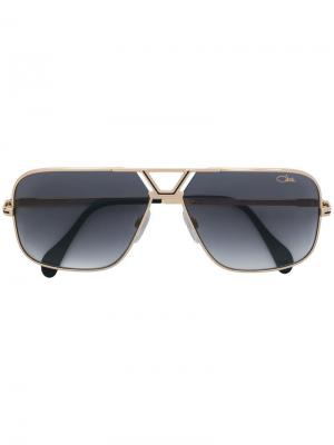 Square shaped sunglasses Cazal. Цвет: золотистый
