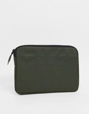 Зеленый чехол для 13-дюймового ноутбука 1651-Зеленый цвет Rains