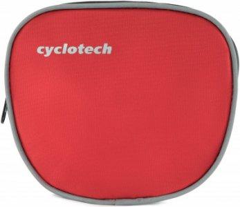 Сумка на руль велосипеда Cyclotech. Цвет: красный