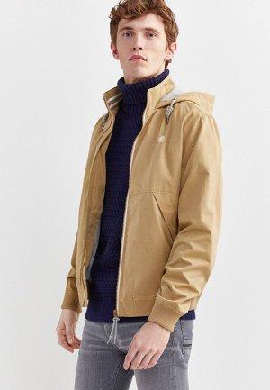 Куртка Springfield. Цвет: бежевый