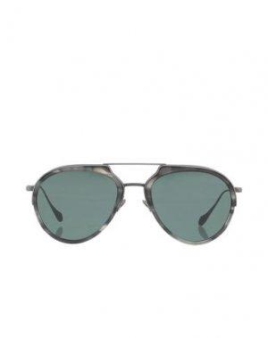 Солнечные очки GIORGIO ARMANI. Цвет: стальной серый