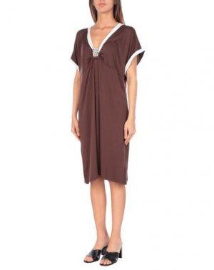Пляжное платье ESSERE. Цвет: какао