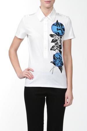 Сорочка ANDREW MACKENZIE. Цвет: белый