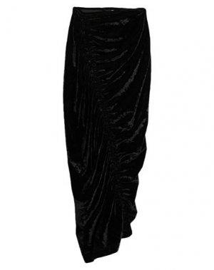 Длинная юбка DRIES VAN NOTEN. Цвет: черный