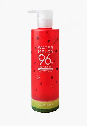 Гель для тела Holika Watermelon 96%, освежающий, 390 мл. Цвет: прозрачный