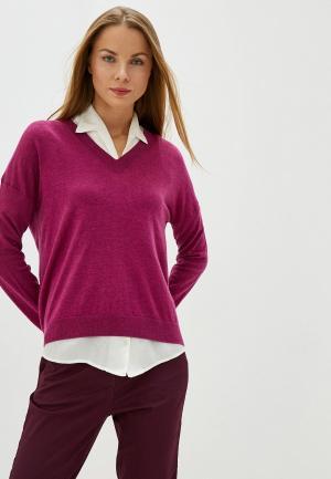 Пуловер United Colors of Benetton. Цвет: фиолетовый