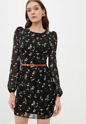 Платье Kira Plastinina. Цвет: черный