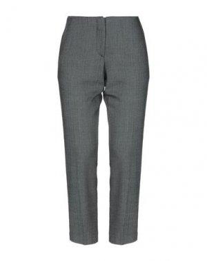 Повседневные брюки DIVINA. Цвет: темно-коричневый