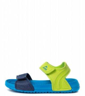 Тапочки коралловые для мальчиков Aquashoes, размер 39 Joss. Цвет: голубой