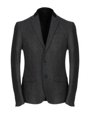 Пиджак BAD SPIRIT. Цвет: свинцово-серый