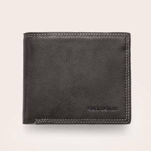 Буква кошелёк для SHEIN. Цвет: темно-серый