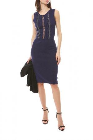 Платье Dior. Цвет: фиолетовый