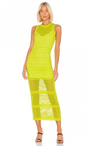 Платье-майка monoghan A.L.C.. Цвет: зеленый