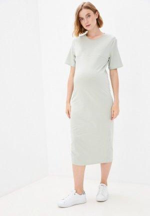 Платье Mama's fantasy. Цвет: зеленый