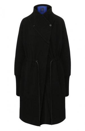 Хлопковое пальто Roque. Цвет: черный