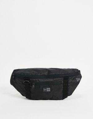 Черная сумка-кошелек на пояс -Черный цвет New Era