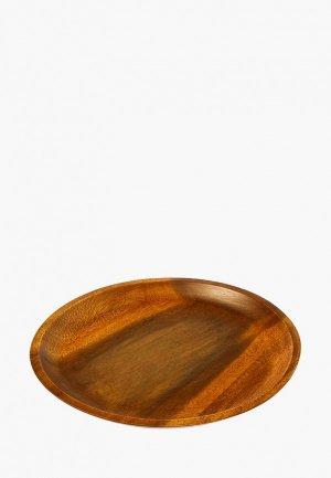 Блюдо сервировочное Oriental way Гармония. Цвет: коричневый