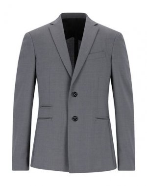 Пиджак VERSACE COLLECTION. Цвет: серый