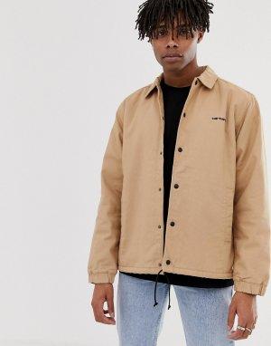 Коричневая спортивная куртка -Коричневый Carhartt WIP