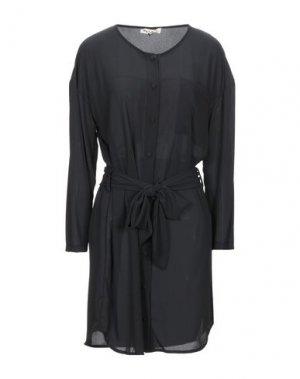 Короткое платье PLEASE. Цвет: черный