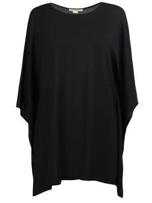 Кашемировый свитер MICHAEL KORS. Цвет: черный