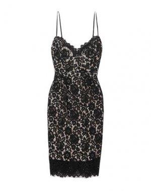 Платье до колена J.CREW. Цвет: черный