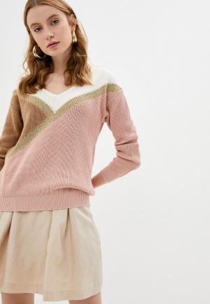 Пуловер Naf. Цвет: розовый