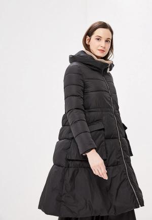 Куртка утепленная Rossa. Цвет: черный