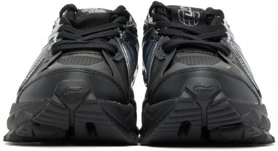 Black Furious Rider Ace Element Sneakers Li-Ning. Цвет: black