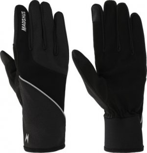 Перчатки , размер 10,5 Madshus. Цвет: черный