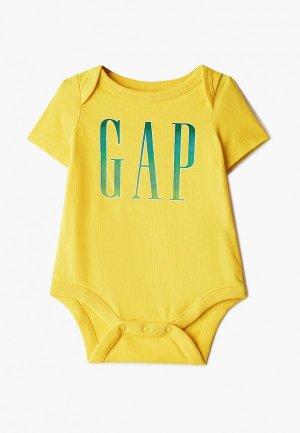 Боди Gap. Цвет: желтый