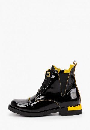 Ботинки Alterego. Цвет: черный