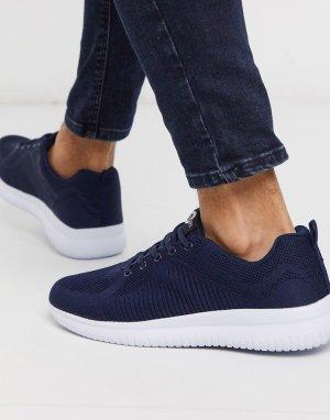 Темно-синие кроссовки -Темно-синий Lambretta