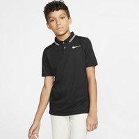 Рубашка-поло для гольфа мальчиков Dri-FIT Victory - Черный Nike