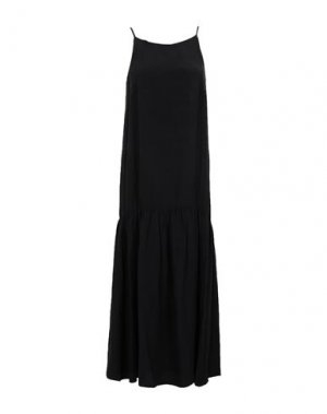 Платье миди CARACTÈRE. Цвет: черный