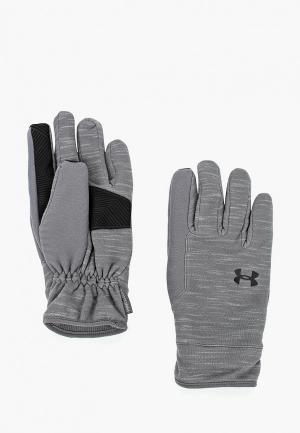 Перчатки Under Armour Mens CGI Elements Glove. Цвет: серый