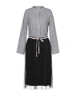 Платье до колена BRIGITTE BARDOT. Цвет: черный